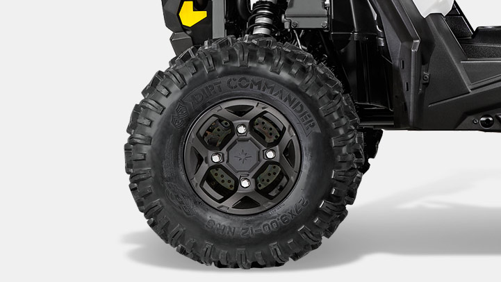 "RZR S 900 EPS - PNEUS 27"" GBC DIRT COMMANDER"