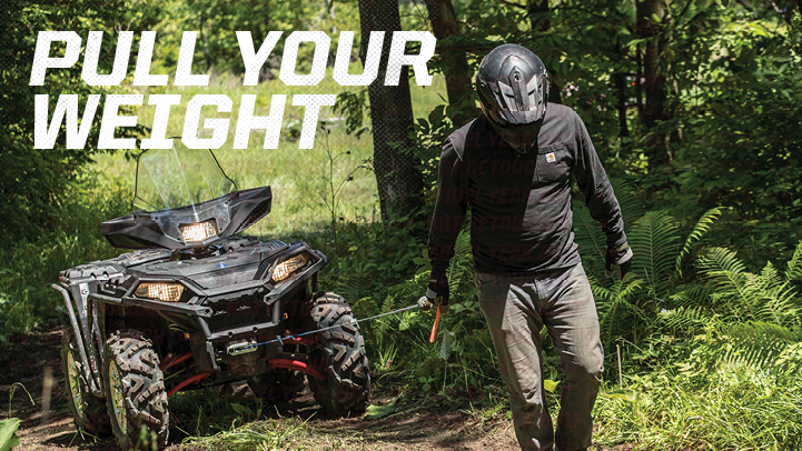 SPORTSMAN XP 1000 - TREUILS HAUTE PERFORMANCE
